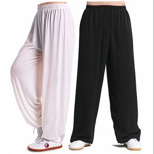 太極拳 スポーツ用パンツ 武術 カンフーパンツ ズボン ロングパンツ 運動用 太極拳パンツ カジュアルパンツ  大きいサイズ  男女兼用
