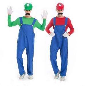 スーパーマリオ Mario風 ルイージ コスプレ コスチューム 衣装 ハロウィン ルイージ 風 スー...