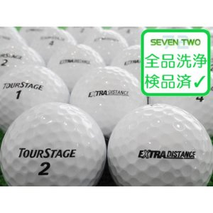 ロストボール ツアーステージ エクストラディスタンス EXTRA DISTANCE ホワイト 30球セット 当店Aランク 中古 ゴルフボール