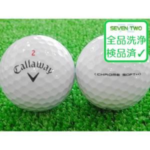 ロストボール キャロウェイ Callaway CHROME SOFT クロームソフト 2016年モデル ホワイト 1個 当店Aランク 中古 ゴルフボール