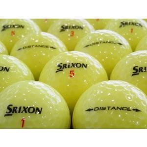 ロストボール SRIXON スリクソン DISTANCE ディスタンス 2015年モデル イエロー 20球セット 当店Aランク 中古 ゴルフボール