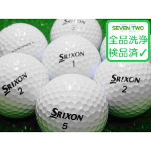 ロストボール SRIXON スリクソン DISTANCE ディスタンス ホワイト 30球セット 当店Aランク 中古 ゴルフボール