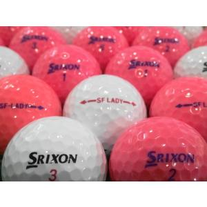 ロストボール SRIXON スリクソン SF-LADY 20球セット 当店Aランク 中古 ゴルフボール