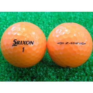 ロストボール SRIXON スリクソン Z-STAR 2015年モデル プレミアムパッションオレンジ 1ダース 12球 当店Aランク 中古 ゴルフボール