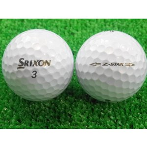 ロストボール SRIXON スリクソン Z-STAR 2015年モデル プレミアムホワイト 1ダース 12球 当店Aランク 中古 ゴルフボール