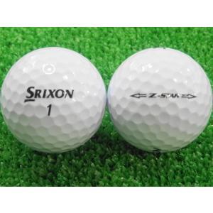 ロストボール SRIXON スリクソン Z-STAR 2015年モデル ホワイト 1ダース 12球 当店Aランク 中古 ゴルフボール