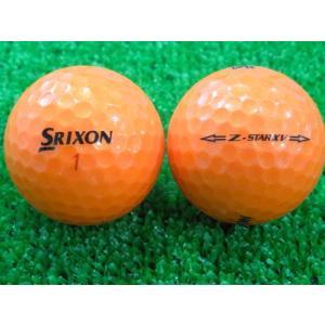 ロストボール SRIXON スリクソン Z-STAR XV 2015年モデル プレミアムパッションオレンジ 1ダース 12球 当店Aランク 中古 ゴルフボール