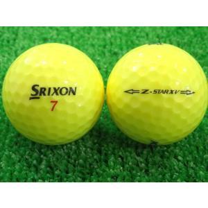 ロストボール SRIXON スリクソン Z-STAR XV 2015年モデル プレミアムパッションイエロー 1ダース 12球 当店Aランク 中古 ゴルフボール