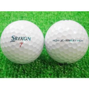 ロストボール SRIXON スリクソン Z-STAR XV 2015年モデル ロイヤルグリーン 1ダース 12球 当店Aランク 中古 ゴルフボール