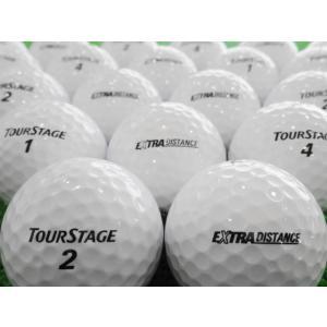 ロストボール 美品 ツアーステージ エクストラディスタンス EXTRA DISTANCE 10球セット 中古 ゴルフボール