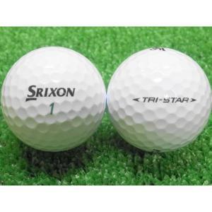 ロストボール 美品 SRIXON スリクソン TRI-STAR トライスター 10球セット 中古 ゴルフボール