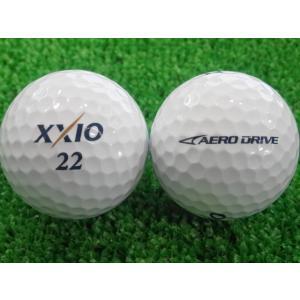 ロストボール 美品 ゼクシオ XXIO エアロドライブ AERODRIVE 1ダース 12P 中古 ゴルフボール