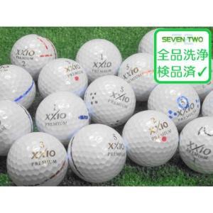 訳あり 落書き ゼクシオ XXIO プレミアム 2014/2016年モデル 1個 中古 ゴルフボール ロストボール DUNLOP