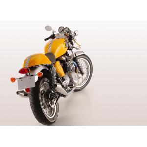 【Triumph(トライアンフ)】THRUXTON スラクストン用メガホンスリップオンマフラー(スリップオン) SMS|sfidarestore