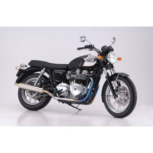 【Triumph/トライアンフ】 BONNEVILLE T100 ボンネビルT100用マフラー(スリップオン) メガフォン BMS|sfidarestore