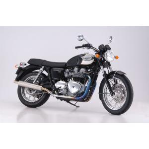 【Triumph/トライアンフ】 BONNEVILLE T100 ボンネビルT100用マフラー(スリップオン) キャプトン BCS|sfidarestore