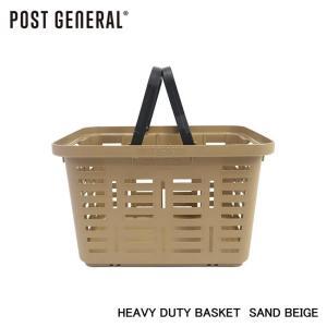 【POST GENERAL/ポストジェネラル】 HEAVY DUTY BASKET SAND BEIGE 品番:981940031|sfidarestore
