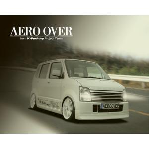AEROOVER/ケーファクトリー【フロントハーフ】ワゴンR MH21S・22S|sftshopping