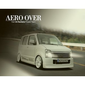 AEROOVER/ケーファクトリー【リアハーフ】ワゴンR MH21S・22S|sftshopping