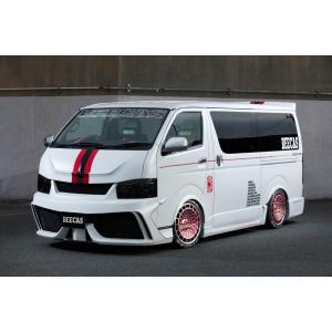 BEECAS/ビーキャス【(F200L)オーバーフェンダーVer1】200系ハイエース 1〜4型 ナロー/ワイド用|sftshopping