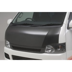 BOXYSTYLE/ボクシースタイル【ユーロカーボンボンネット】200系ハイエースI・II型(ナローボディ専用)|sftshopping