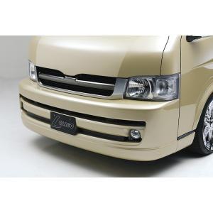 BOXYSTYLE/ボクシースタイル【プレミアムフロントバンパー】200系ハイエースI・II型(ワイドボディ専用)|sftshopping
