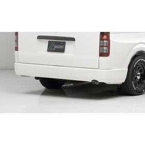 BOXYSTYLE/ボクシースタイル【リアフラットバンパー】200系ハイエースI・II型(ワイドボディ・バン専用)|sftshopping