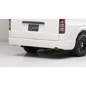 BOXYSTYLE/ボクシースタイル【リアフラットバンパー】200系ハイエースIV型(ナローボディ・バン専用)|sftshopping