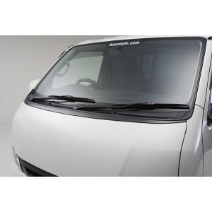 BOXYSTYLE/ボクシースタイル【ボンネットエクステ(カーボン)】200系ハイエースIV型(ナローボディ専用)|sftshopping