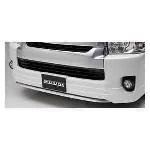 BOXYSTYLE/ボクシースタイル【フロントハーフスポイラー(タイプ4)】200系ハイエースIV型(ワイドボディ専用)|sftshopping