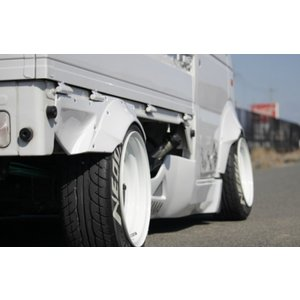 ESB/イーエスビー(CLS BattleWorks)【バトルワークス オーバーフェンダー※リア用 左右セット】キャリィトラック DA63T専用|sftshopping
