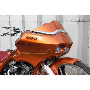 JOBDESIGN/ジョブデザイン(J's Bagger バガーカスタム)【フロントフェアリングキット】ハーレーHarley Davidson FLTR 2000年〜2012年モデル sftshopping