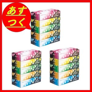エルモア エレガンスティッシュー 400枚(200組) 3ボックスセット(1Box=5Packs,合計15Packs)|sgline