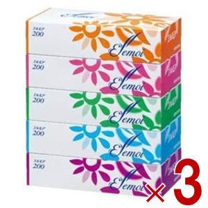 エルモア ティシュー 5箱入 × 3パック|sgline