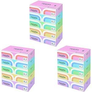 ネピア プレミアムソフト ティシュ 360枚 3ボックスセット(1Box=5個,合計15個)|sgline