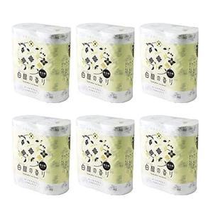 トイレットペーパー まとめ買い 香り付き 白檀の香り 4ロール × 6パック 簡易包装|sgline