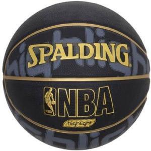 即納対応 スポルディング/SPALDING バスケットボール 5号球 ゴールドハイライト ラバー N...
