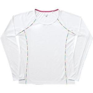 【セール!!30%OFF】 アシックス/asics レディース ロングTシャツ CFS72H ホワイト(01) sgs
