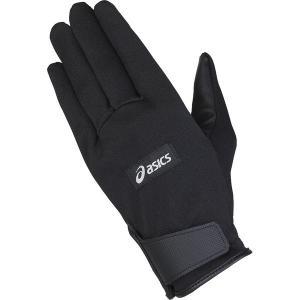 ネコポス対応 アシックス/asics グラウンドゴルフ スタンダード グローブ 手袋 両手用 GGG632 ブラック(90)|sgs