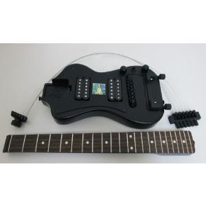 ポータブル型高級エレキギター SGT-3DPEG01NH ハムバッカーケース無し sgtechg