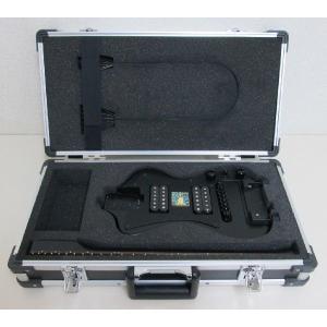 ポータブル型高級エレキギター SGT-3DPEG01CH ハムバッカー ハードケース付 sgtechg
