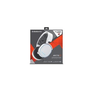 国内正規品密閉型 ゲーミングヘッドセット SteelSeries Arctis 5 White 61...