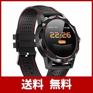 ZAC-T 2019新版 スマートウォッチ 大字幕 スポーツ腕時計 スマートブレスレット 活動量計 IP68防水 歩数計 心拍計 血圧検測 多機能腕時|sh-price
