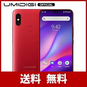 UMIDIGI F1 SIMフリースマートフォン Android 9.0 5150mAh大容量バッテ...