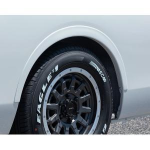 エセックス NV350キャラバン リーガルフェンダー塗装済(QABホワイトパール/KH3ブラック) ABS製 sh-store