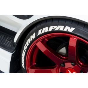 ギブソン(GIBSON) タイヤステッカー【ホワイト】