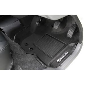 ユーアイビークル(UI-Vehicle) NV350キャラバン プレミアムGX用 3Dラバーマット フロント3pcs sh-store