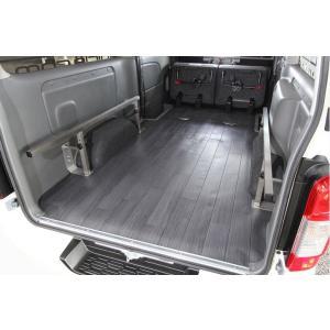 ユーアイビークル(UI-Vehicle) NV350キャラバン プレミアムGX用 CFカーゴマット ショート2mグレー木目柄 sh-store
