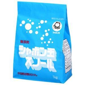 シャボン玉石けん 粉石けんスノール 紙袋 1kg|shabon
