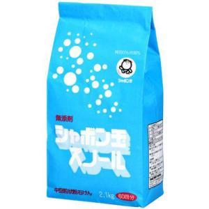 シャボン玉石けん 粉石けんスノール 紙袋 2.1kg|shabon